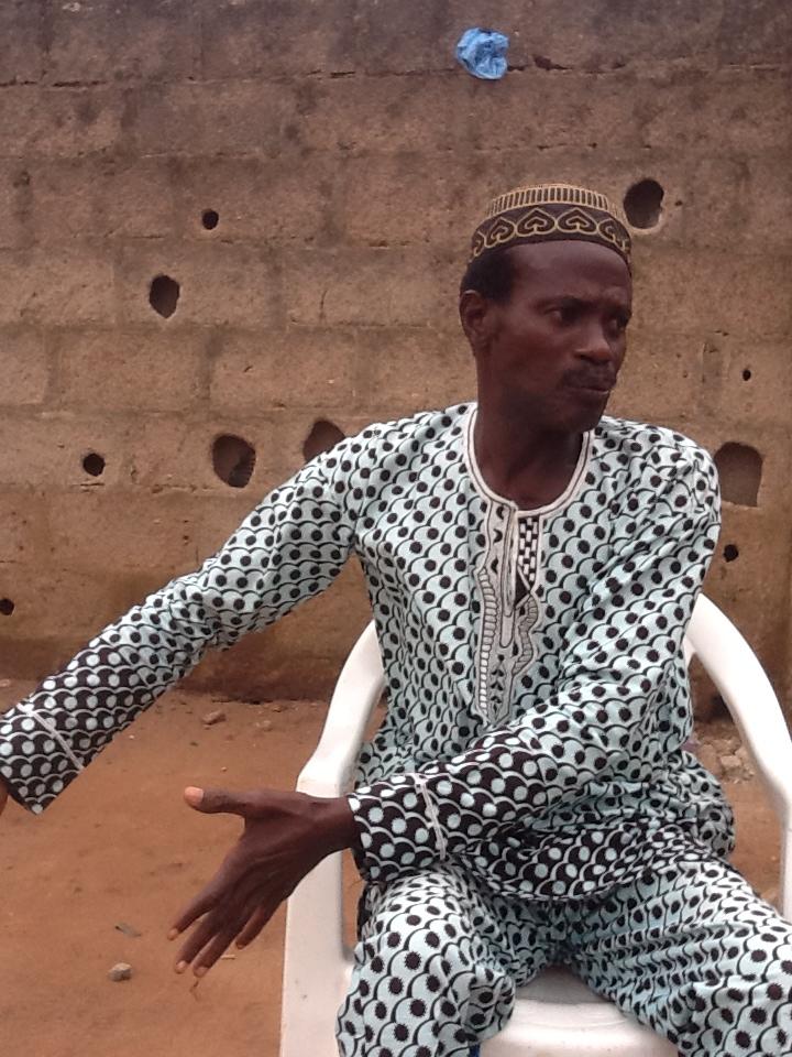 Abija the Yoruba film actor – TAIWO'S WORLD